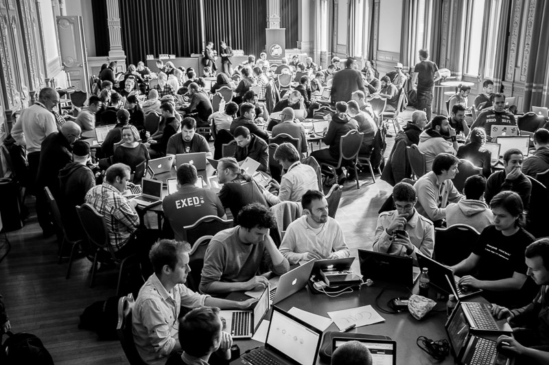 Contributors day at WordCamp Europe in Leiden
