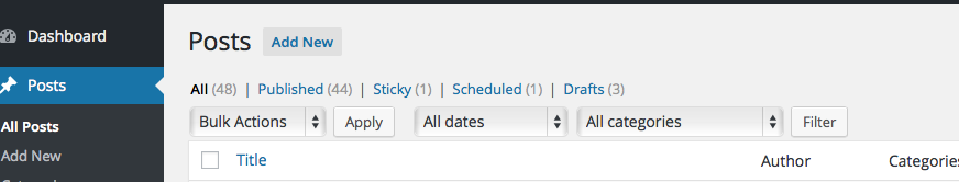 Hey WordPress devs: headings will change in the Admin screens