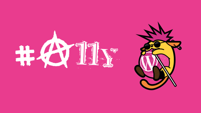 WordPress A11y team Wapuu